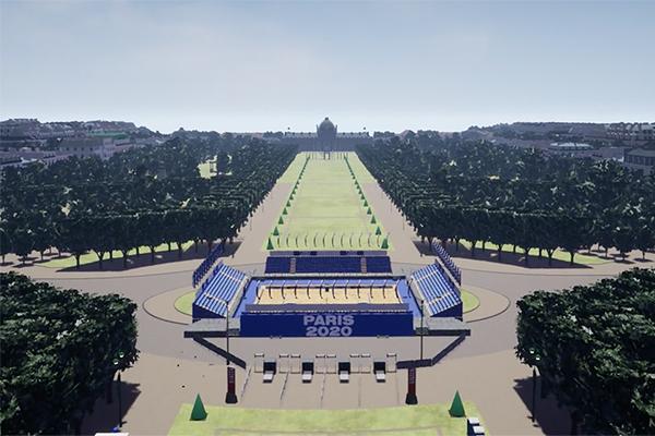 3d paris 2020 digital twin