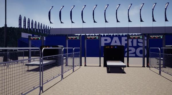 paris 2020 barriers