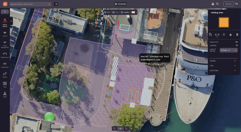 Event Map of Sydney 10K