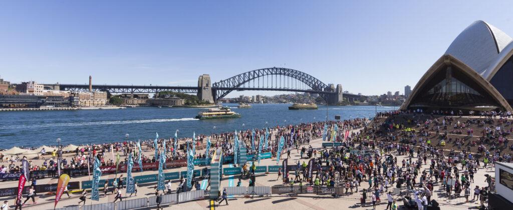 Sydney Harbour 10k road event