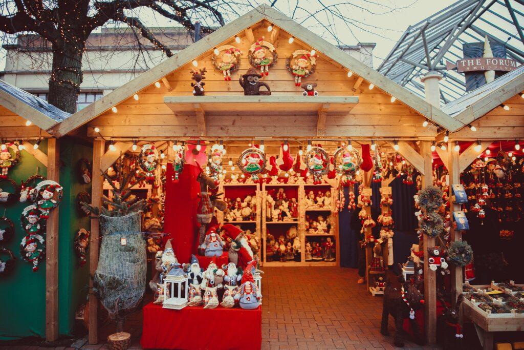 Christmas Market hut