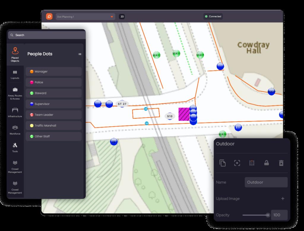 Dot Planning in OnePlan