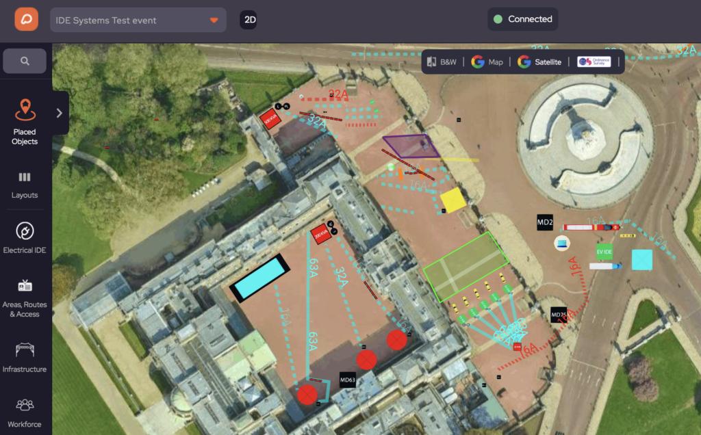 Event Plan at Buckingham Palace