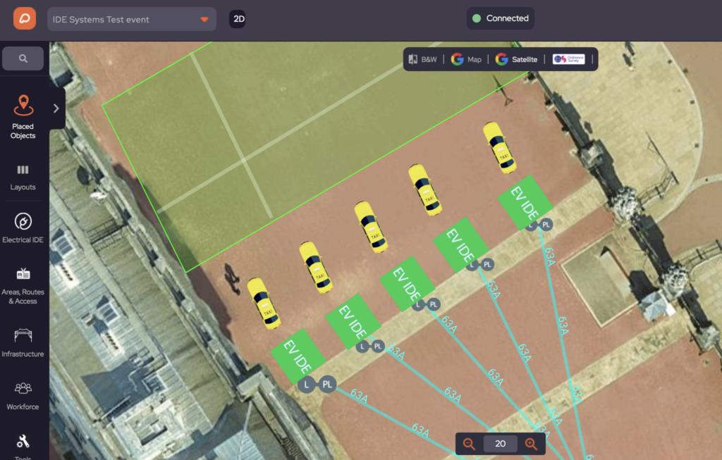 Event Traffic Managing in OnePlan