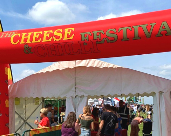 Cheese and Chilli Festival using OnePlan for event planning