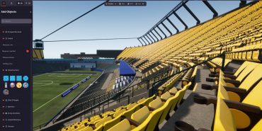 OnePlan Venue Twin stadium view from seats