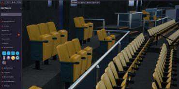 Venue Twin interactive 3D stadium digital twin