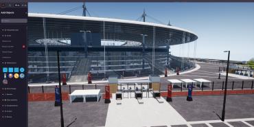 OnePlan Venue Twin stadium digital twin