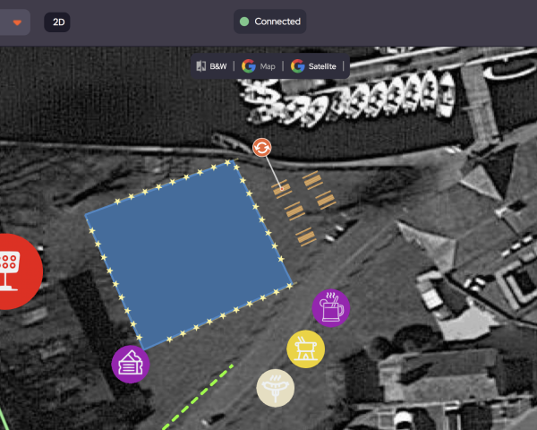 Rotate object on map in OnePlan