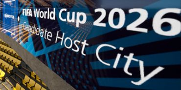 OnePlan Venue Twin FIFA World Cup signage