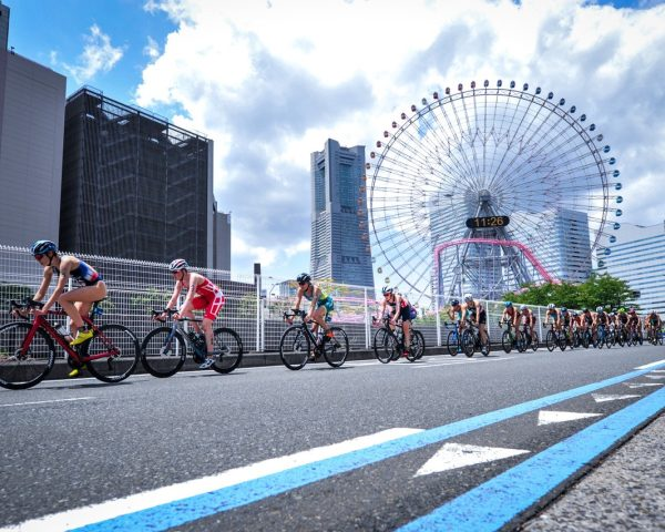World Triathlon event Yokohama 2021